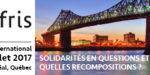 Appel à communication pour le congrès AIFRIS 2017
