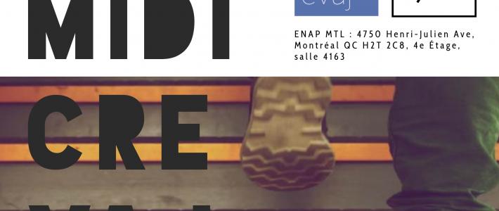Les Midi CREVAJ 2019 !