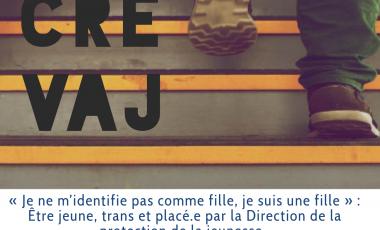 Le prochain Midi CREVAJ sera le 2 avril et portera sur les expériences de jeunes trans qui ont connu un parcours de placement dans le système de la protection de la jeunesse au Québec.